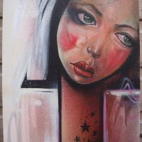 Aerosol+and+acrylic+paint+on+canvas.%0D%0A28+x+36+cm.%0D%0APrivate+collection.